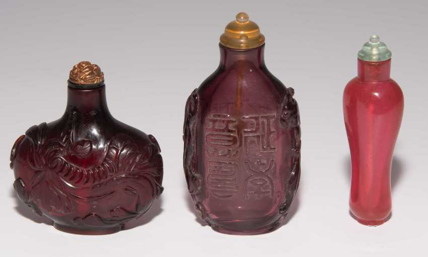 6 Glas Snuff Bottles - photo 9