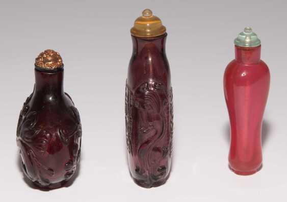 6 Glas Snuff Bottles - photo 10