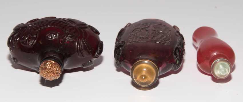 6 Glas Snuff Bottles - photo 11