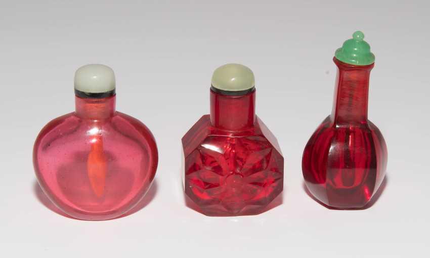 6 Glas Snuff Bottles - photo 14