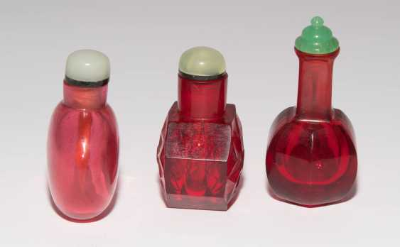 6 Glas Snuff Bottles - photo 15
