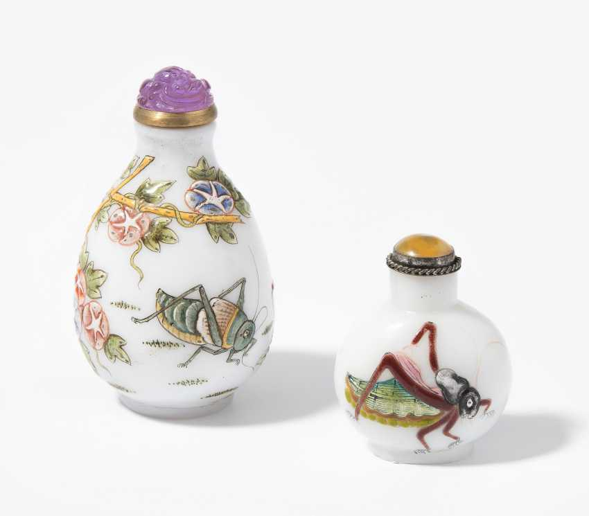 2 Snuff Bottles - photo 1