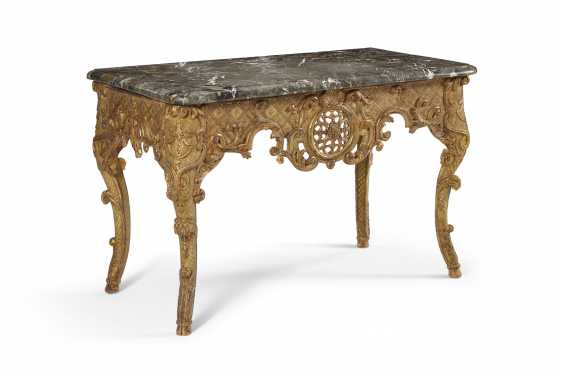 UNE TABLE D'APPOINT REGENCE GILTWOOD - photo 2