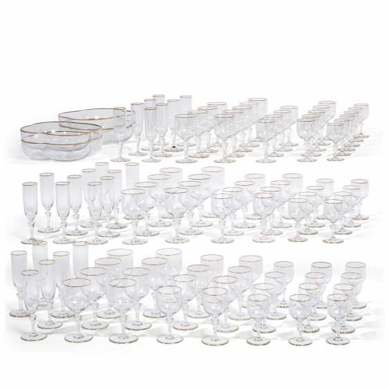 A BACCARAT GLASS PART STEMWARE SERVICE IN THE 'MANON' PATTERN - photo 1