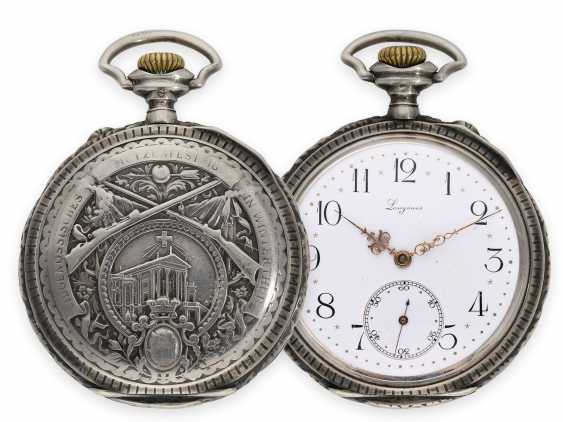 Pocket watch: rare, very early Longines rifle watch with extensive accessories, Winterthur 1895 - photo 1