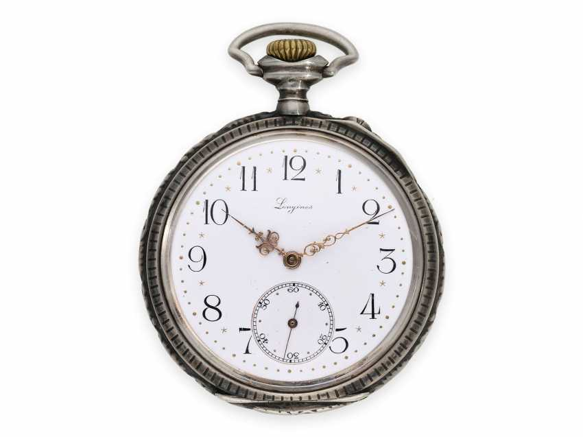 Pocket watch: rare, very early Longines rifle watch with extensive accessories, Winterthur 1895 - photo 2