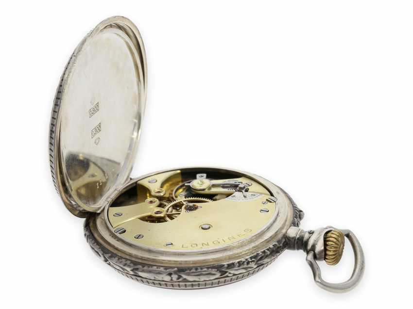 Pocket watch: rare, very early Longines rifle watch with extensive accessories, Winterthur 1895 - photo 4
