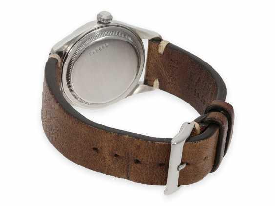 Watch: very beautiful, rare vintage men's watch in steel, Tudor Oyster Ref. 4463, around 1950 - photo 2