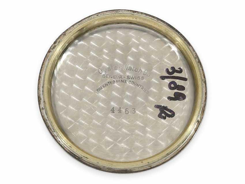 Watch: very beautiful, rare vintage men's watch in steel, Tudor Oyster Ref. 4463, around 1950 - photo 4