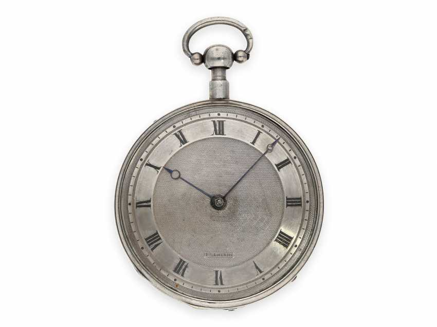 Pocket watch: fine Geneva Breguet-type spindle watch with repeater, Francois L'Hardy No. 3714, ca.1820 - photo 1