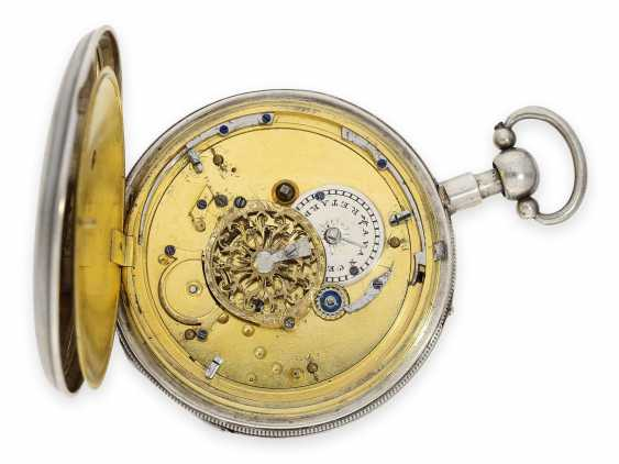 Pocket watch: fine Geneva Breguet-type spindle watch with repeater, Francois L'Hardy No. 3714, ca.1820 - photo 2