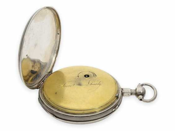 Pocket watch: fine Geneva Breguet-type spindle watch with repeater, Francois L'Hardy No. 3714, ca.1820 - photo 4