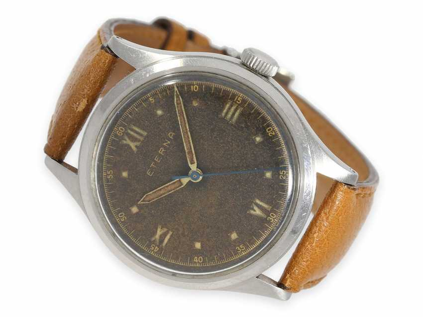 """Watch: very rare oversize Eterna with center seconds and """"Tropical Dial"""", 1940s - photo 1"""