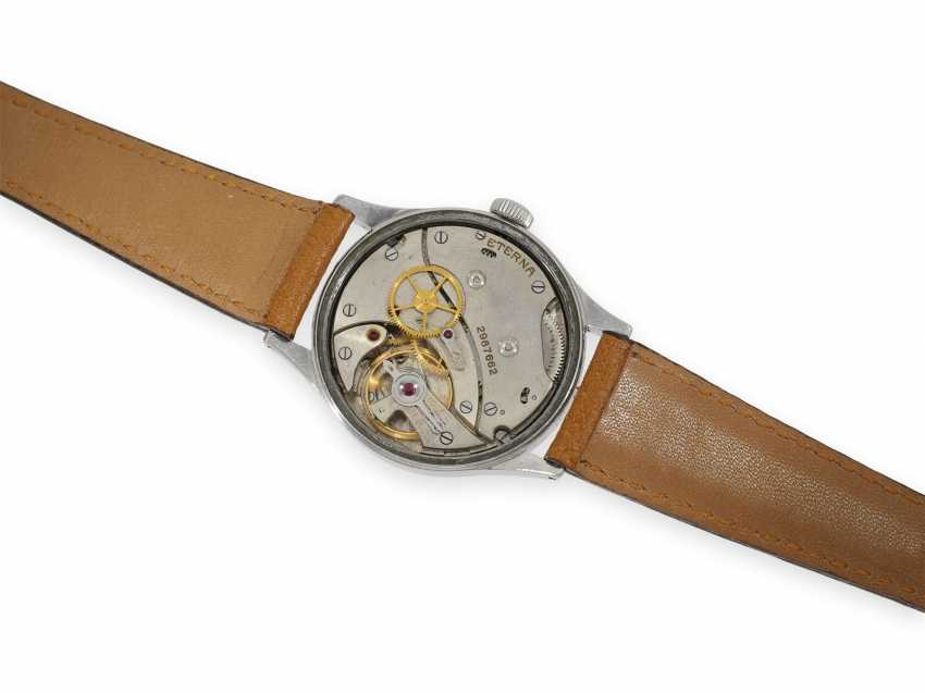 """Watch: very rare oversize Eterna with center seconds and """"Tropical Dial"""", 1940s - photo 2"""