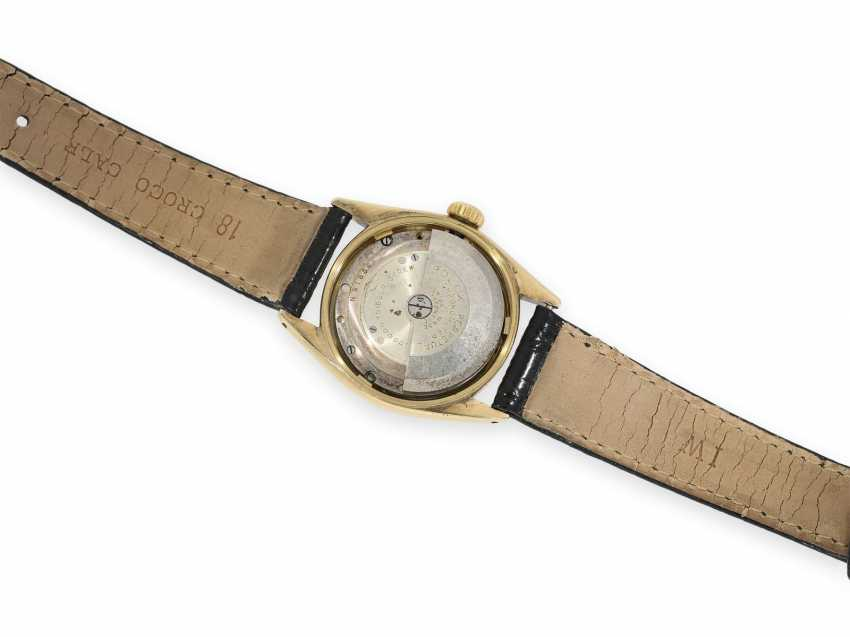 Wrist watch: early Rolex Bubble Back Chronometer with center seconds, rare Ref. 5048, around 1948 - photo 2