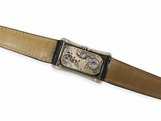 """Wristwatch: Rolex, """"Prince Brancard Chronometer"""", Ref. 971 in the rare observatory quality with steel case and original box, collector's rarity, 1930s - photo 3"""