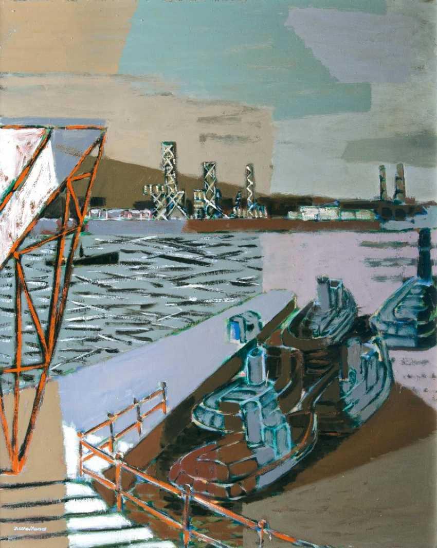 В порту Гамбурга - фото 1