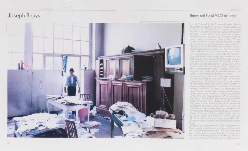 Joseph Beuys in his studio - photo 1