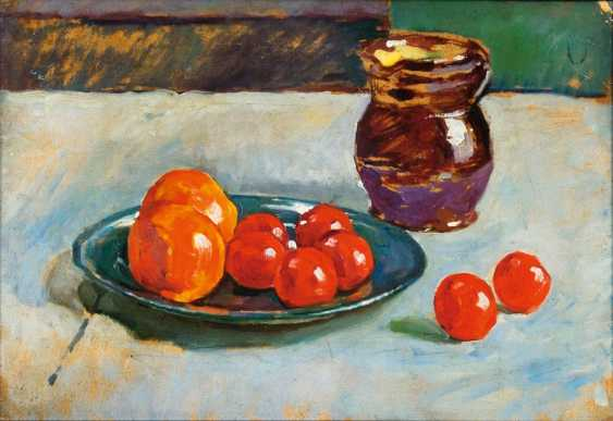 Still life with fruits and jug - photo 1
