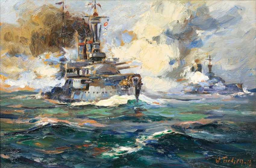 Sea battle in World War I. - photo 1