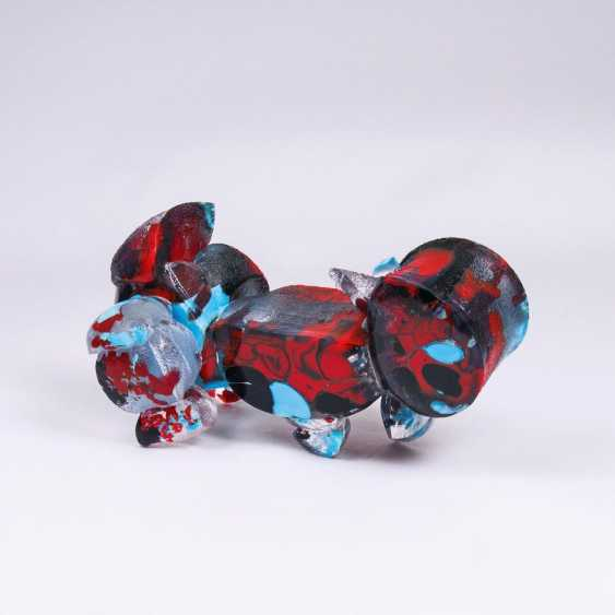 Glass Sculpture 'Small palette' - photo 1