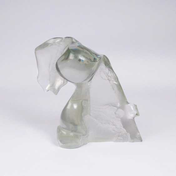 Glass sculpture 'The Memory' - photo 1