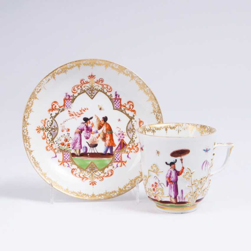 Mug with Höroldt chinoiseries - photo 1