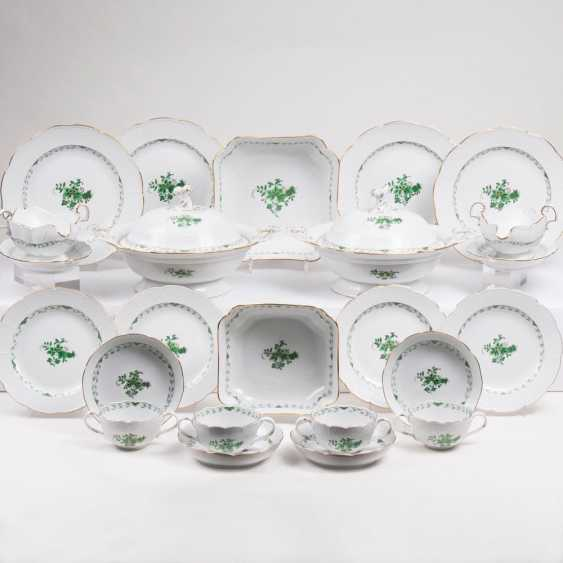 Dinner service 'Indian green' for 12 people - photo 1