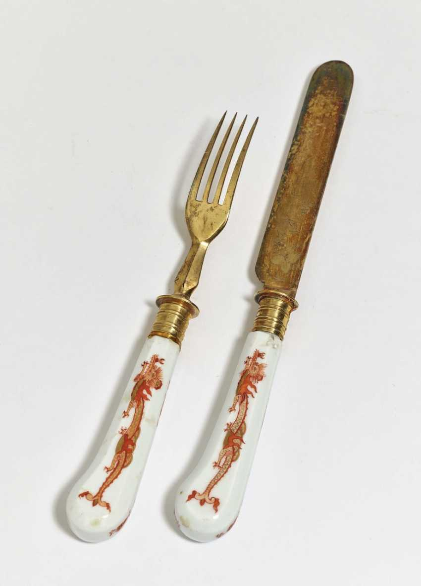 knife and fork - photo 1