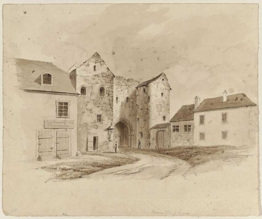 The old Sterntor in Bonn - photo 1