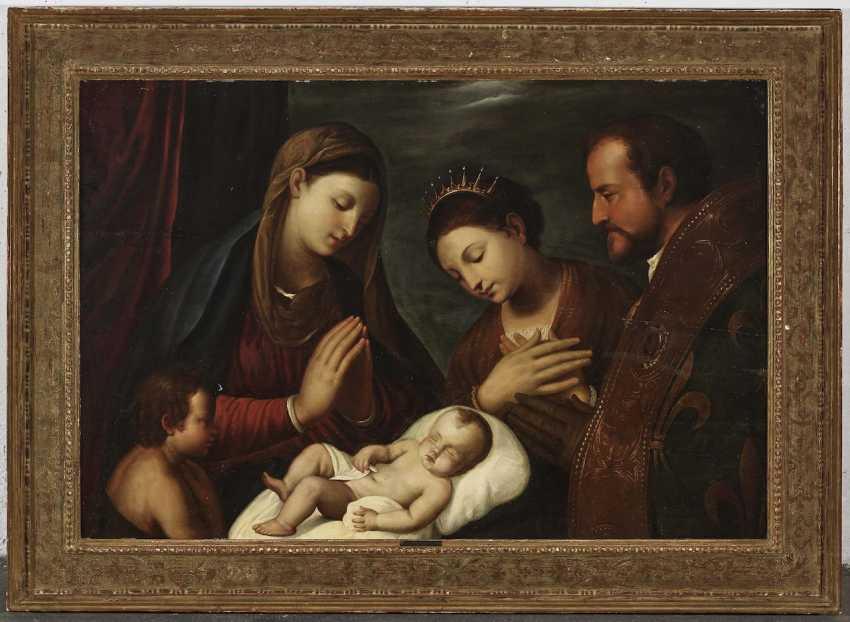 Adoration of the sleeping baby Jesus - photo 2