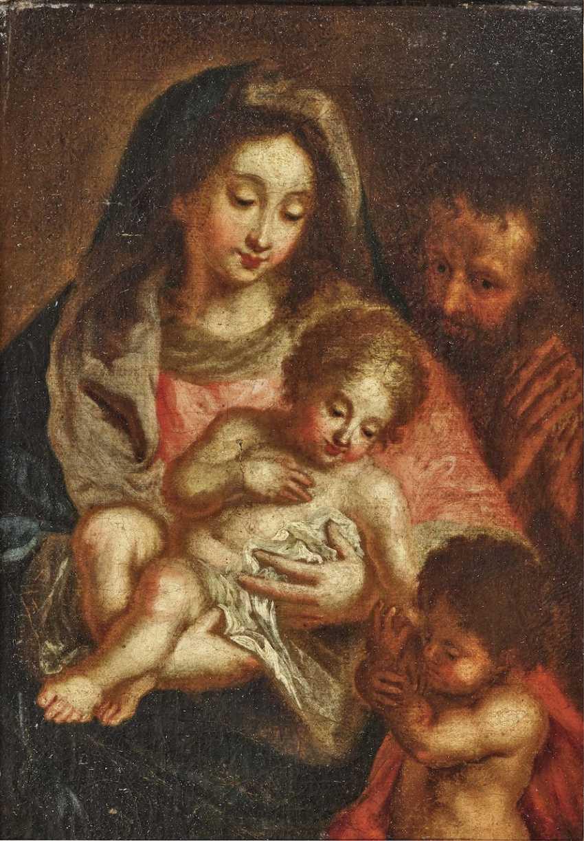 Holy Family with the boy John - photo 1