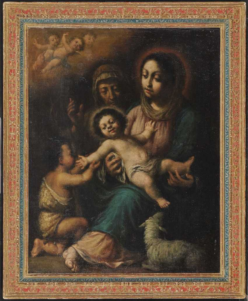 Mary with the child, the Johannesknaben and St. Elisabeth - photo 2