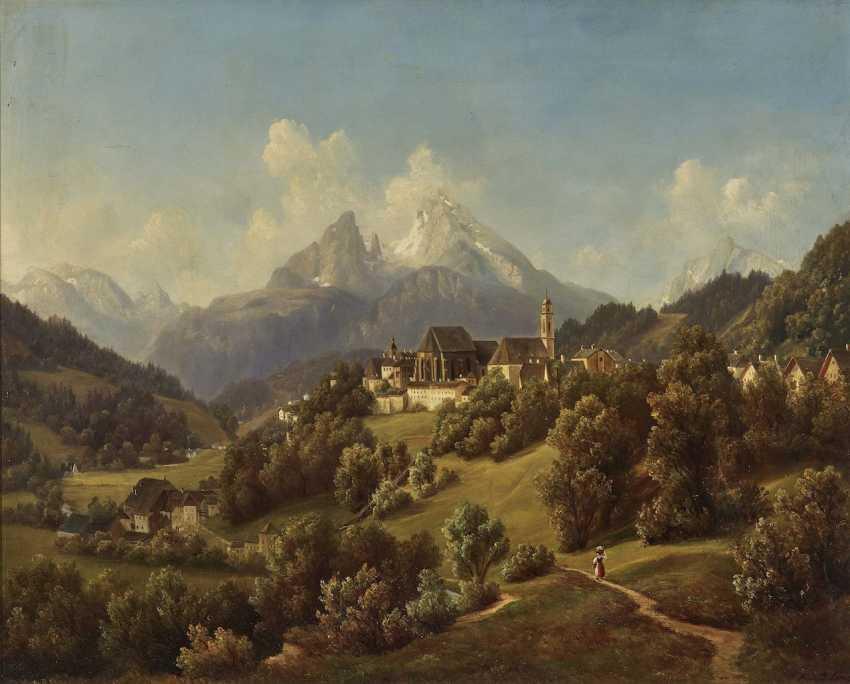View of Berchtesgaden and the Watzmann - photo 1