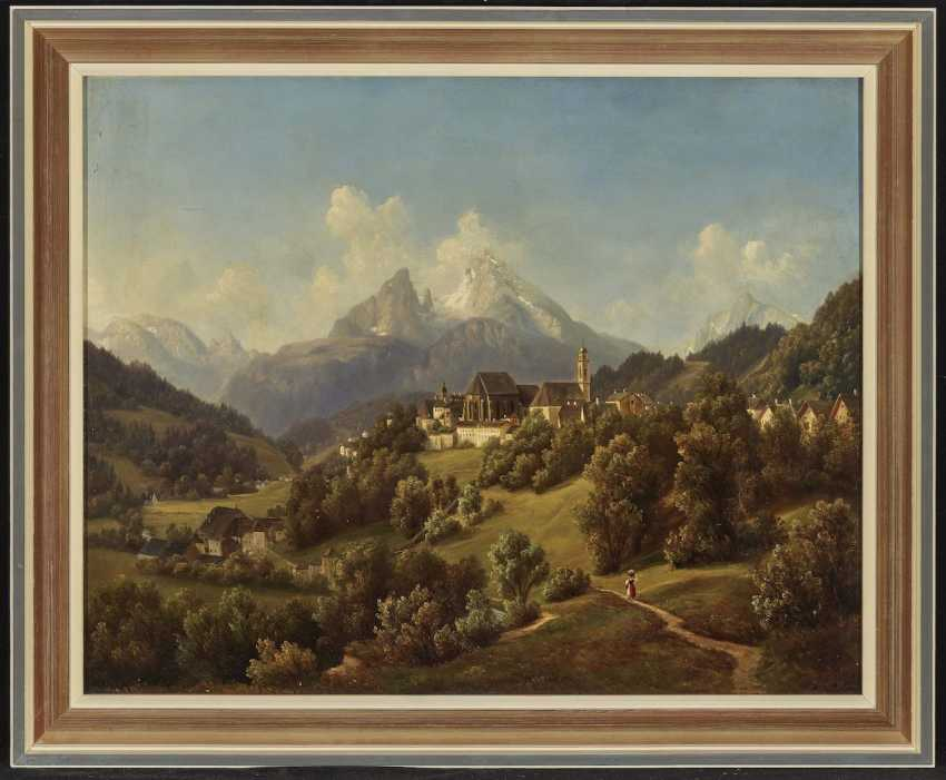 View of Berchtesgaden and the Watzmann - photo 2