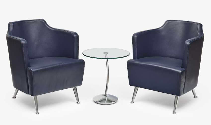 A pair of armchairs - photo 1