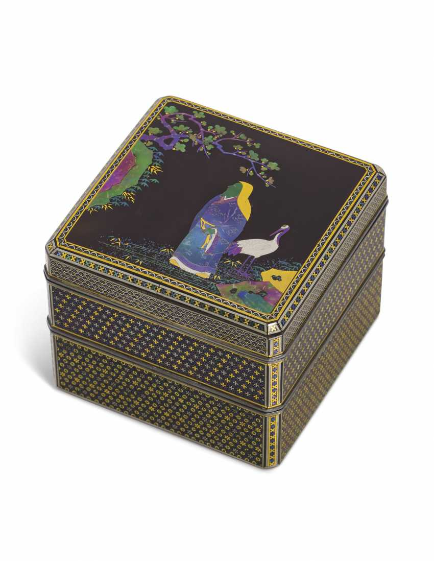 A FINE TWO-TIERED SOMADA INCENSE BOX (KOGO) - photo 1