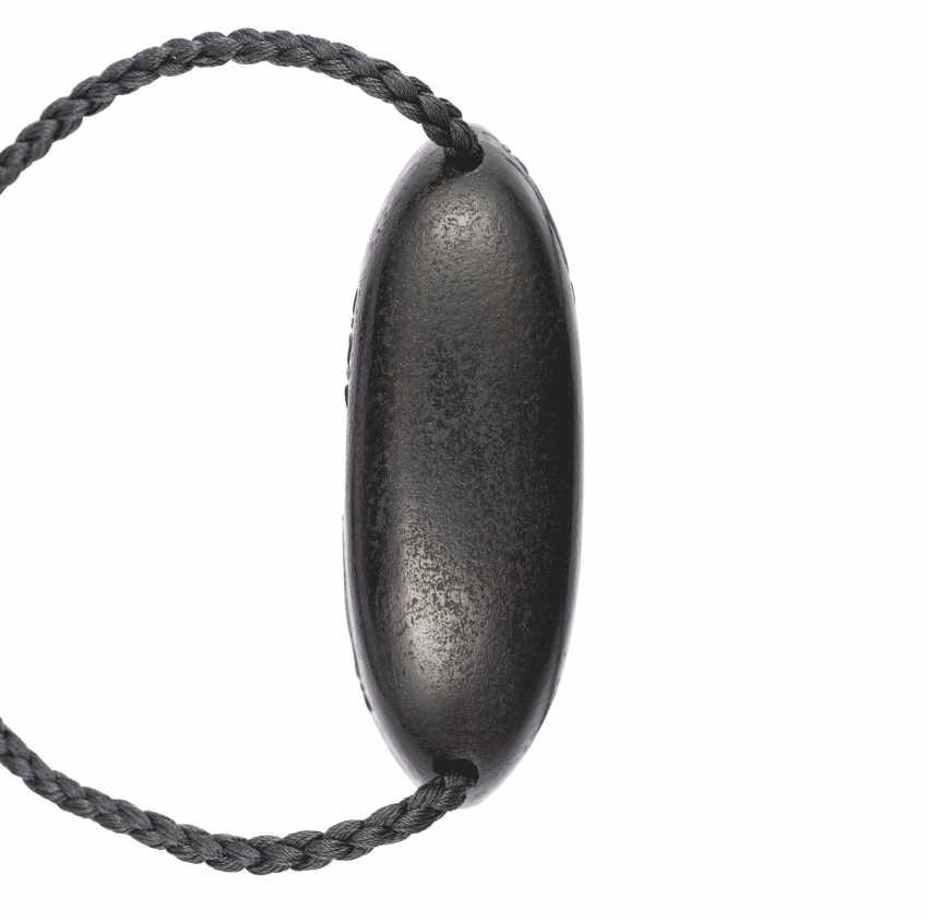 A FINE FOUR-CASE BLACK LACQUER INRO - photo 3