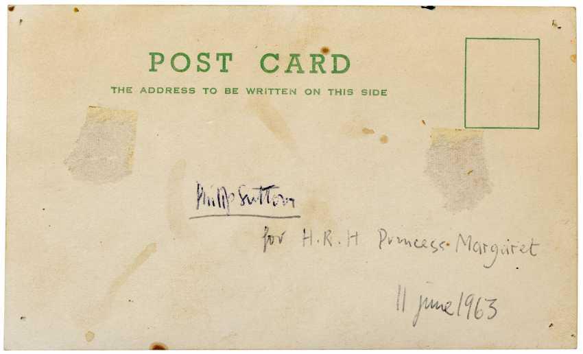 A GIFT TO H.R.H. THE PRINCESS MARGARET FROM PHILIP SUTTON R.A.: Philip Sutton R.A. (b. 1928) - photo 4