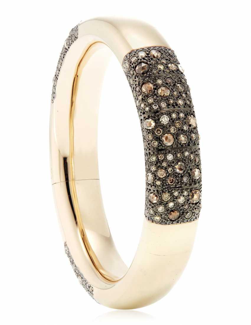 POMELLATO COLORED DIAMOND BANGLE BRACELET - photo 2