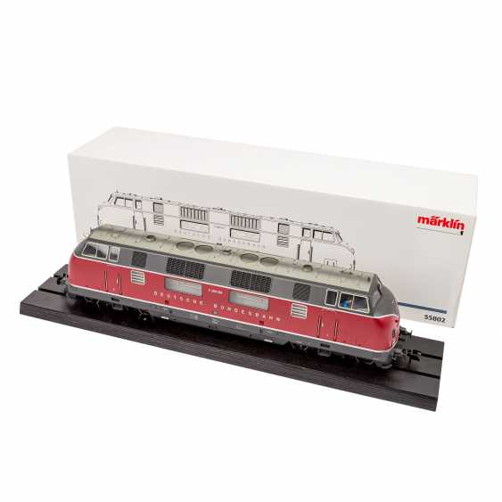 Locomotive diesel MÄRKLIN 55802, voie 1 - photo 1