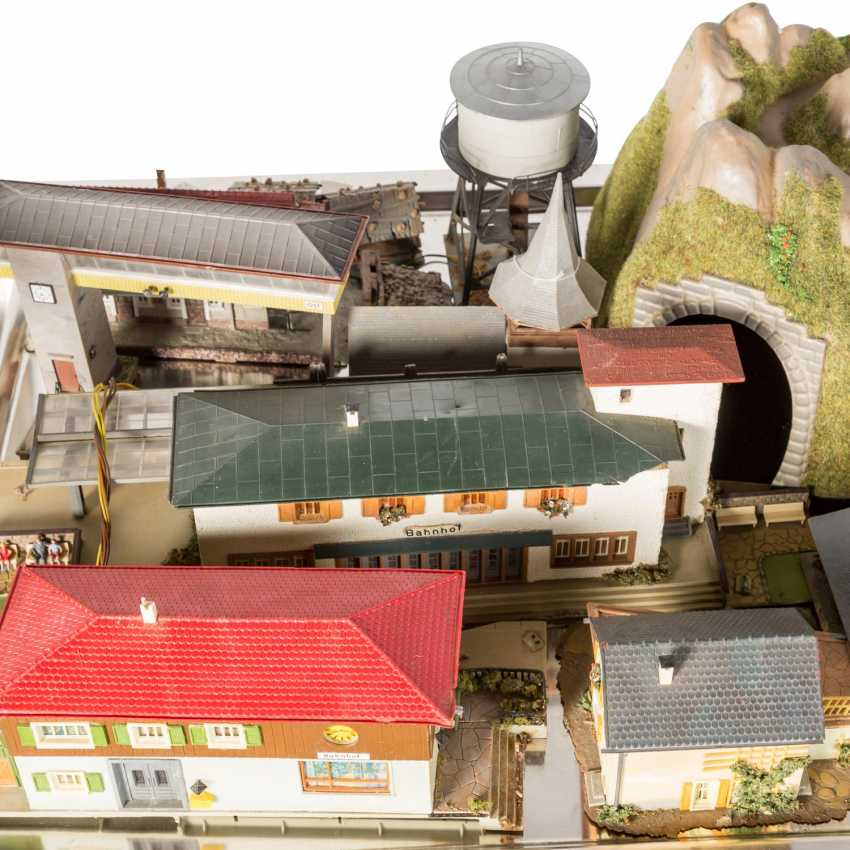 VOLLMER, KIBRI, among other things, bundle of buildings and tunnels for the railway system, gauge H0, - photo 2