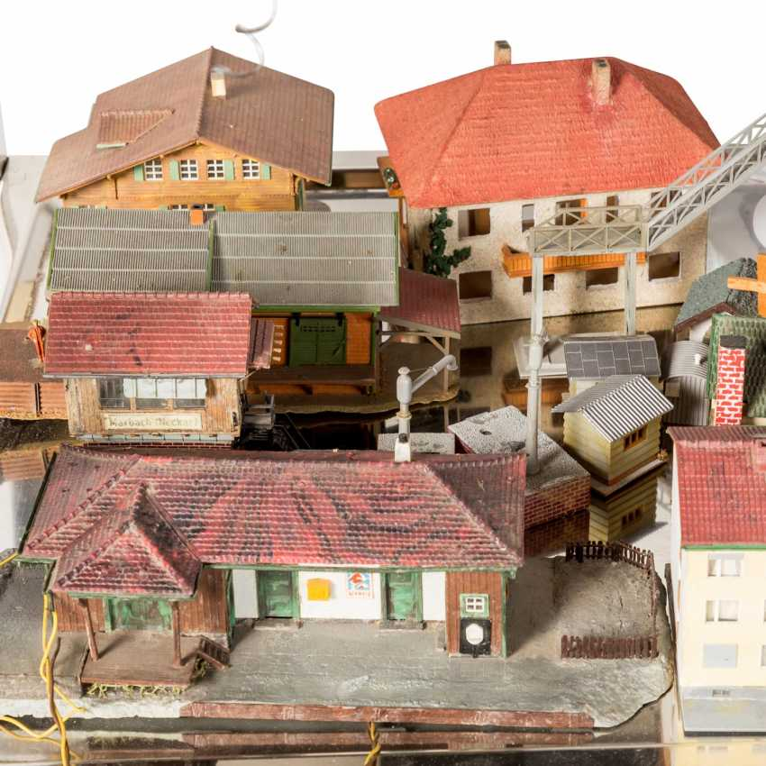 VOLLMER, KIBRI, among other things, bundle of buildings and tunnels for the railway system, gauge H0, - photo 4