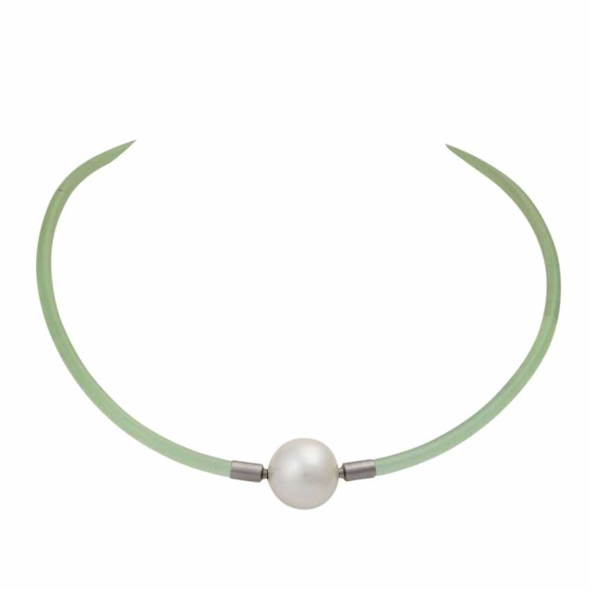 GELLNER choker with South Sea cultured pearl approx. 16.9 mm, - photo 1