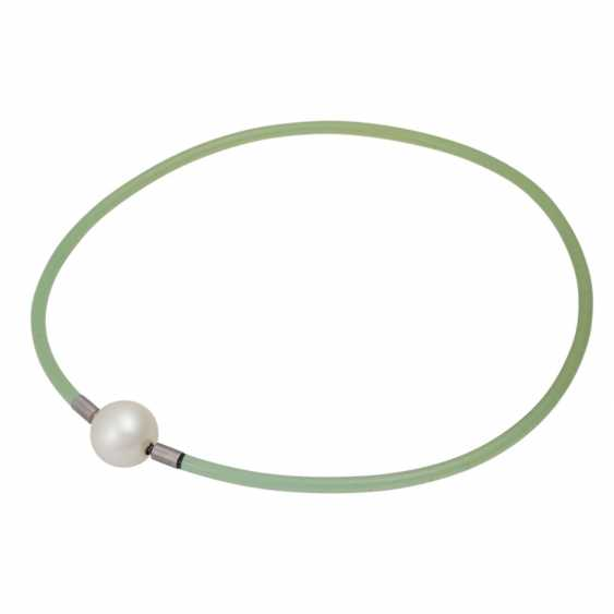 GELLNER choker with South Sea cultured pearl approx. 16.9 mm, - photo 3