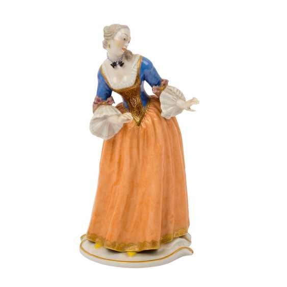 "NYMPHENBURG ""Isabella"", comedian character from the Commedia dell'arte series, 20th century - photo 1"