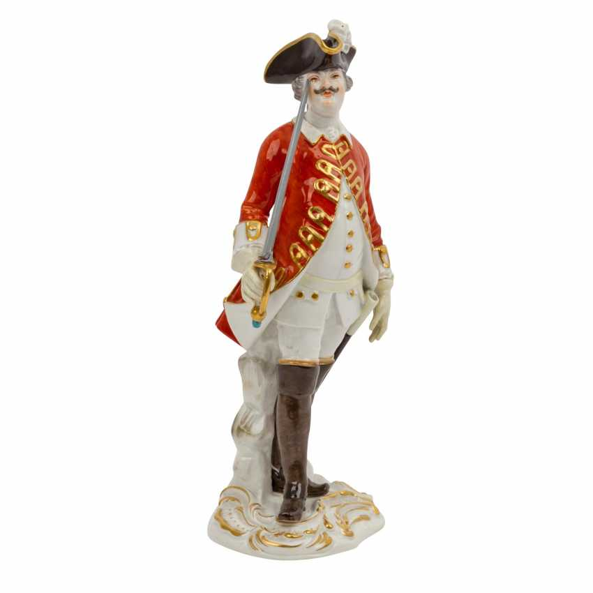 """MEISSEN """"Soldier with sword"""", 1924-1934, 1st choice. - photo 1"""