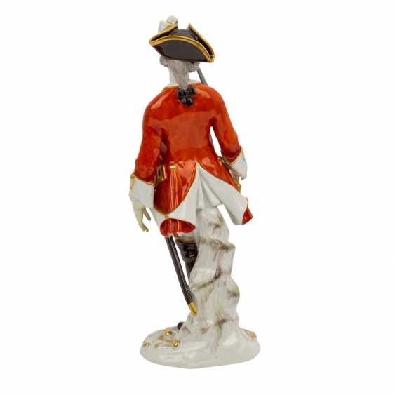 """MEISSEN """"Soldier with sword"""", 1924-1934, 1st choice. - photo 3"""