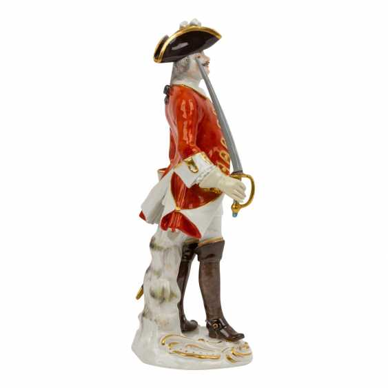 """MEISSEN """"Soldier with sword"""", 1924-1934, 1st choice. - photo 4"""