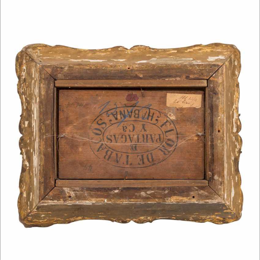 """LIER, ADOLF HEINRICH (1826-1882) """"Harvest time"""" - photo 3"""